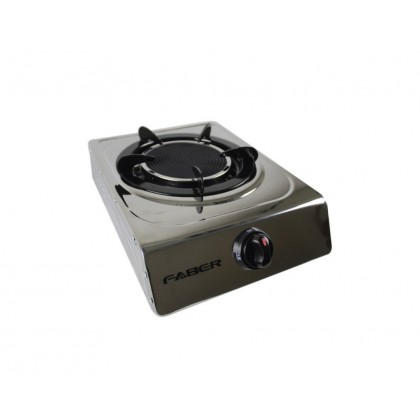 Faber (Single Infrared Burner) Gas Stove Glass Cooker FS CASA S1500
