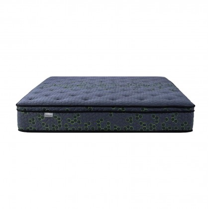 "Sleephaus 12"" Inch King Premium Firm 3 Zone Pocket Spring Mattress"