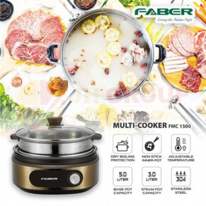 Faber (5L) Multifunction Cooker FMC 1500