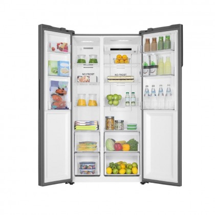 Haier 569L Side By Side Series Refrigerator with Twin Inverter HSR3918FNPG